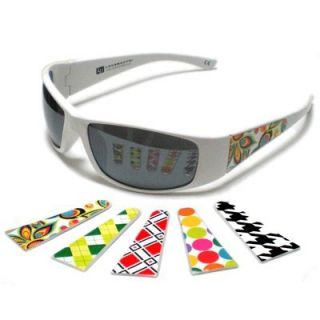 Features of Loudmouth Golf Sunglasses   White Frame