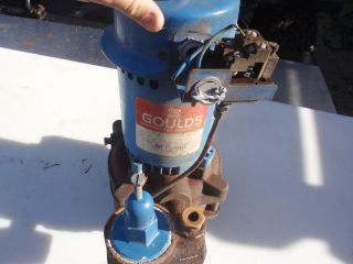 Goulds 1 HP Vertical Deep Well Water Jet Pump