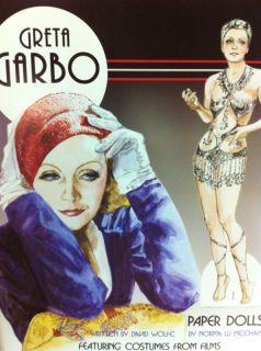 Norma Lu Meehan Paper Doll Book Greta Garbo New