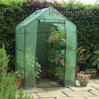 Gardman 7622 Walk in Greenhouse Garden Grow House New