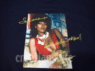 Supreme Pam Grier Tee T Shirt Shirt Box Logo Kate Moss Arabic