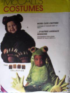 uncut mccalls pattern tom arma costume frog bear 7842 more