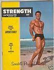 Strength & Health Bodybuilding muscle fitness magazine BERT ELLIOTT 12