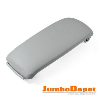LEATHERETTE CENTER CONSOLE ARMREST COVER LID FOR AUDI A6 00 01 02 03