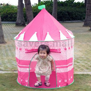 Little Princess Castle Play House Playhouse Kids Tent Christmas Gift