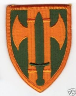 Armed Forces Army 18th MP Military Police shoulder flash badge