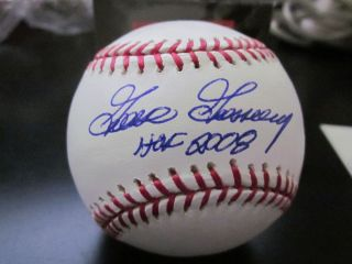 GOOSE GOSSAGE AUTOGRAPHED SIGNED MLB BASEBALL HOF AUTHENTICATION BY