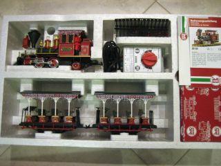 LGB 72560 Christmas Grizzly Flats Santa Claus Train Set RARE