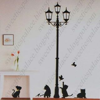 Wall Paper Art Sticker Mural Decal Sticking Decor Wallpaper   Cat