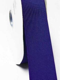 grosgrain ribbon Wedding Craft Ribbon 7/8/ 22mm., Per 5 Yards Cobalt