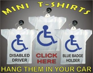 Disabled Reserved Car Parking Sticker Disability Mobility Sign