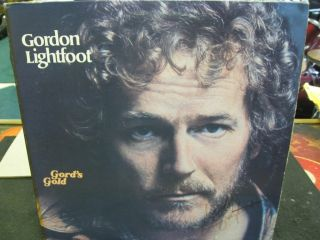 Gordon Lightfoot Autographed Album