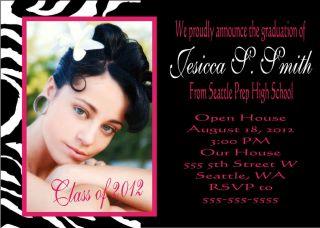 50 6x7 5 Graduation Announcements Cards Invitations 2012 Envelopes