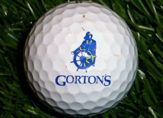 Gortons Logo Golf Ball