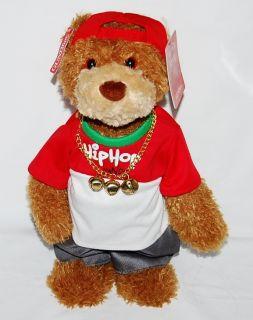 Hip Hop Randy Bear Singing Dancing Moves Groves to Jingle Bells