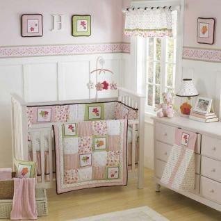 New 3 Nautica Hannah Wall Hangings Flowers Pink Nursery