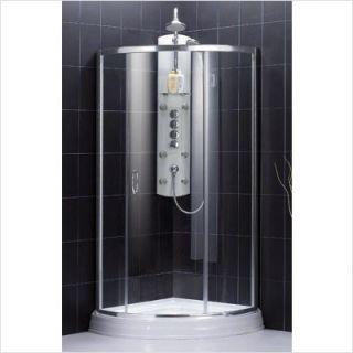 DreamLine Crysal Glass Medium Shower Enclosure Shen 4132326 01