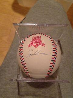 TOM GLAVINE AUTO AUTOGRAPH 1997 ALL STAR GAME MLB BASEBALL JSA