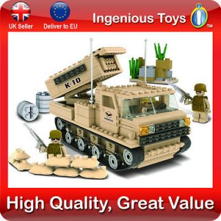 Military Army Jeep c/w Figures Compatible Building Bricks 241pcs Ship