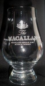 Macallan Official Glencairn Single Malt Scotch Whisky Tasting Glass