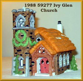Ivy Glen Church New Department Dept 56 Dickens Village D56 DV