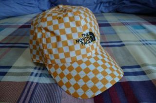 Supreme North Face Horizon Box Logo Camp Cap Hat Yellow