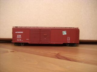 Grand Trunk Western Double Door Box Car HO Scale