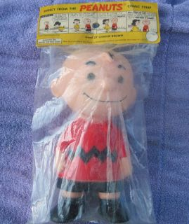 Peanuts Comic Strip Doll 1955 Good OL Charlie Brown Hungerford