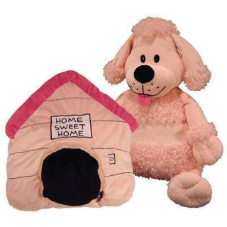 Happy Nappers Dog House Poodle 21 Plush Pillow Toy on TV New with