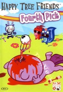 Happy Tree Friends Fourth Pick New PAL Series DVD