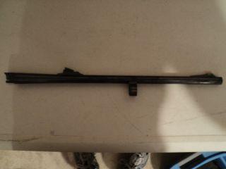 Remington 870 20 GA Barrel 20 Smooth Bore F O Rifle Sights Royal Blue