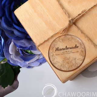 Transparency Handmade Stickers Packing Material for handmade crafts