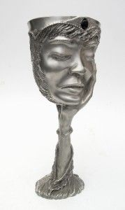 Graeme Anthony Lady Galadrial Lord of The Rings Pewter Goblet Royal