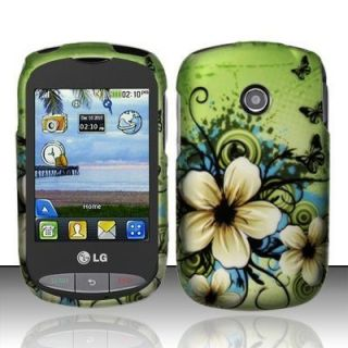 For Tracfone Net10 LG 800G Hard Protector Case Snap Phone Cover