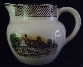 Vintage Myott China Hanley Milk Cream Pitcher England