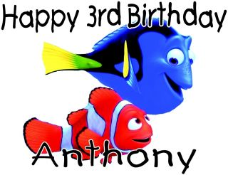 Personalized Finding Nemo Birthday T Shirt Movie Characters Infant