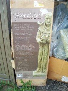 St Christopher Statue Yard Art Figurine New