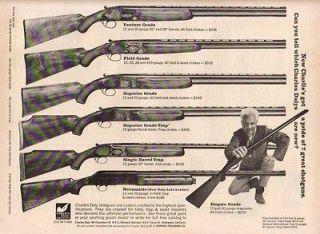1968 Charles Daly Venture Superior Novamatic Shotgun Ad