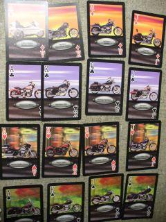 Harley Davidson Bicycle Playing Cards Photo Custom Designed Card Deck