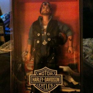Harley Davidson Ken Barbie Collector Edition 1999