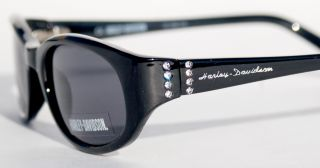 Harley Davidson Eyewear Womens Studded Bling Sunglasses with