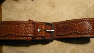 Sam Brown Style Gun Belt