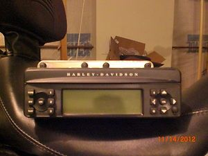 Harley Davidson Touring Radio Harman Kardon Part 76160 06