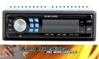 Autoradio HH9016 Auto Radio Mit USB SD Aux Anschluß Digital  Cinch