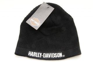 Harley Davidson Motorcycle Knit Skull Cap Beanie Hat Toboggan Assorted