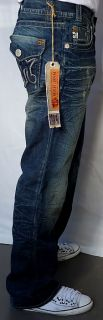 MEK Denim Mens HARBIN Jeans   Boot Cut   Medium Blue   NEW   Size 29
