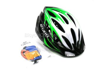CLOSEOUT HELMET Giro Athlon Bright Green Black   Bike Helmet   Medium