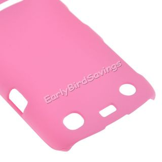 Pink Hard Protector Case Cover for Blackberry Curve 9360 9350 9370