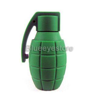 4GB Cool Green Grenade Shape USB 2 0 Flash Memory Pen Drive Stick