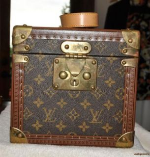 Louis Vuitton Travel Make Up Hard Sided Case Luggage